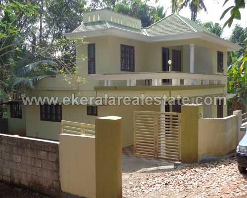 Venjaramoodu thiruvananthapuram double storied house and land plot for sale at kerala real estate