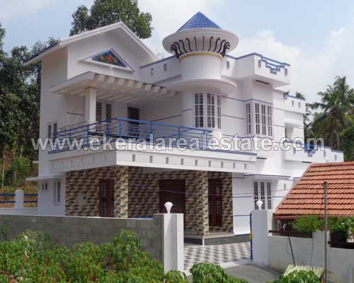 Pothencode thiruvananthapuram new modern double storied house for sale at kerala real estate