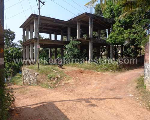 Pothencode 8400 Sq.ft. Three Storied incomplete Building for sale Pothencode properties thiruvananthapuram kerala