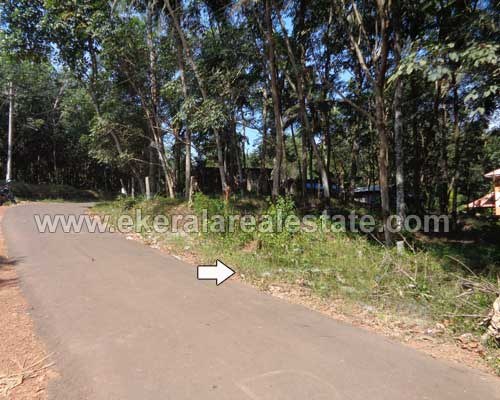Pothencode tar road frontage 25 cent lorry plot for sale in Pothencode kerala real estate properties
