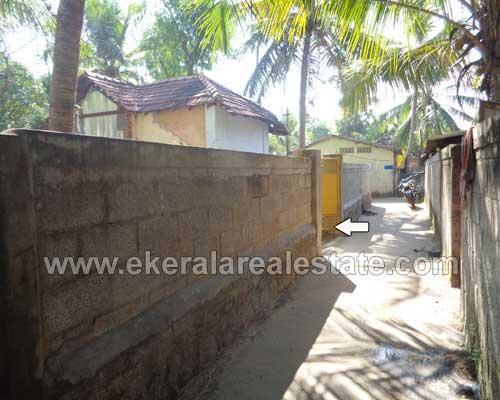 property sale in Muttathara Thiruvananthapuram Muttathara main road 4 cent land plot sale