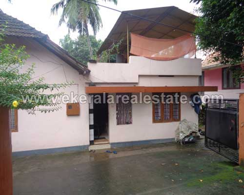 trivandrum kerala real estate 1000 sq.ft. house and 8 cent land plot for sale at Thirumala