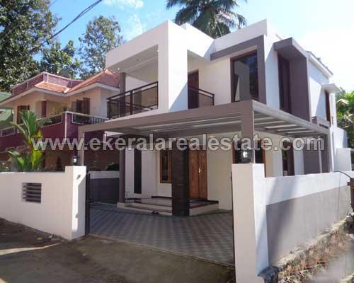 trivandrum kerala real estate 4 bedroom newly built house for sale at Kudappanakunnu