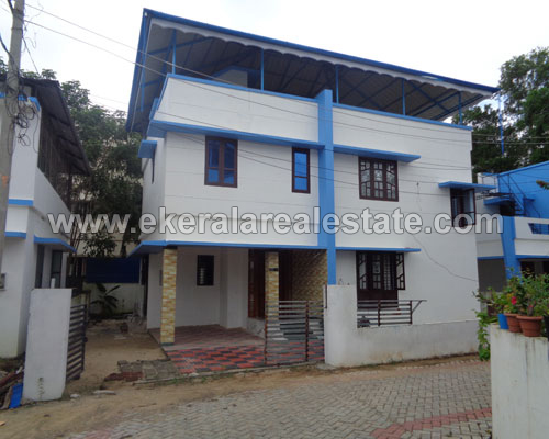 two storied house villas sale in Menamkulam Trivandrum Menamkulam Kazhakuttom