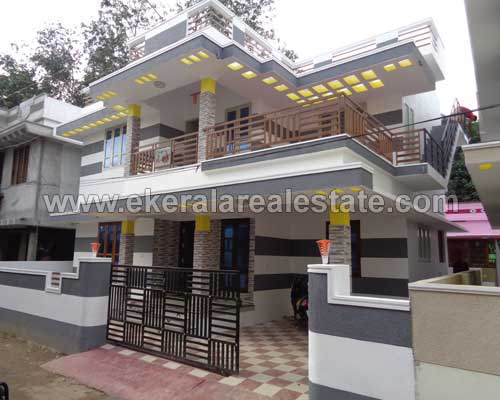 brand new two storied house villas sale in Thirumala Trivandrum Thirumala