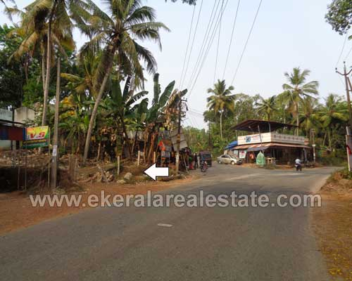 thiruvananthapuram kerala real estate Venjaramoodu Land with Old House for sale