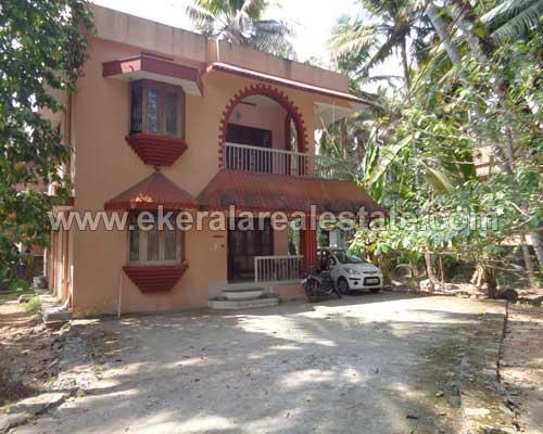thiruvananthapuram kerala real estate Ambalamukku Land with Old House for sale