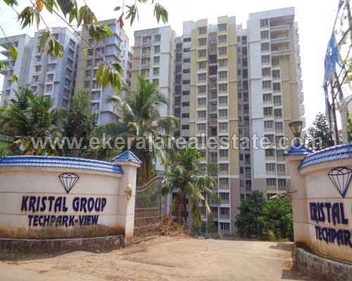 trivandrum kerala real estate Flat for sale at Kazhakuttom Technopark