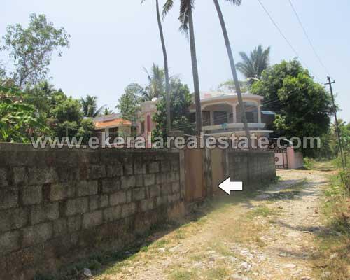 Kerala Thiruvananthapuram real estate Residential plot for sale at Anayara