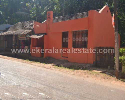 Trivandrum Vellanad Changa Road frontage house and plot for sale