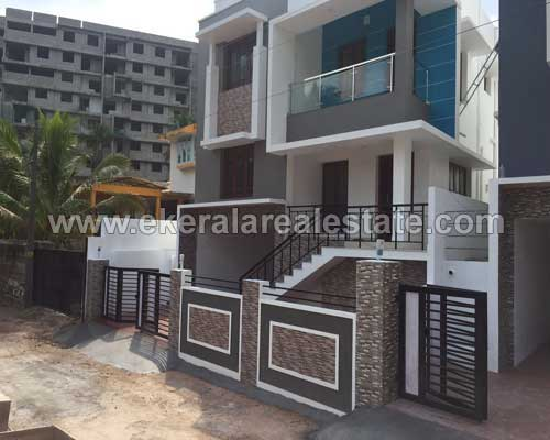 Trivandrum Mannanthala House villas at Mukkola Kerala real estate Properties