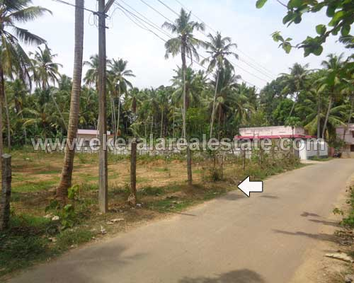 Properties in Malamelkunnu Pappanamcode Trivandrum Bus route frontage land For sale