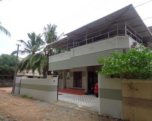 Thiruvananthapuram Kerala Kaimanam Karamana 7 cents 1650 sq.ft. house for sale