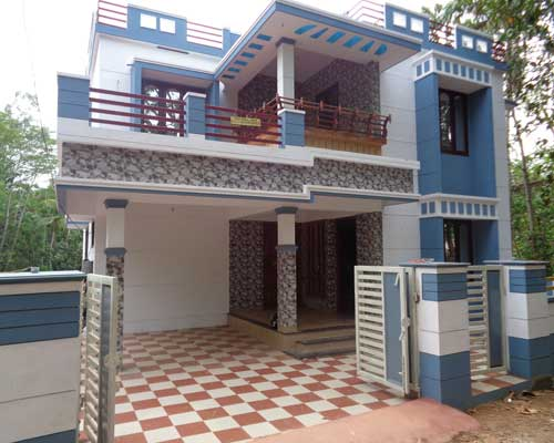 Thiruvananthapuram Real estate Properties Thirumala 4 Cents 1750 Sq.ft. House for sale