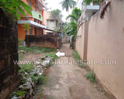 12.5 cents land and House Property for sale at Kannammoola Trivandrum Kerala