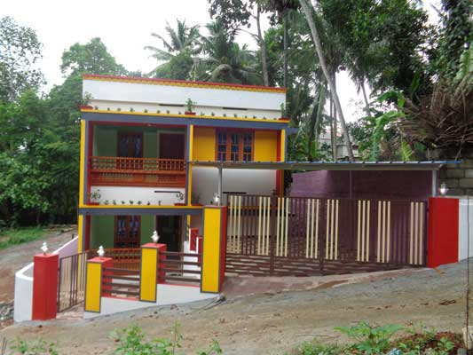 5 Cents 1950 Sq.ft. New house Property for sale at Peyad Trivandrum Kerala