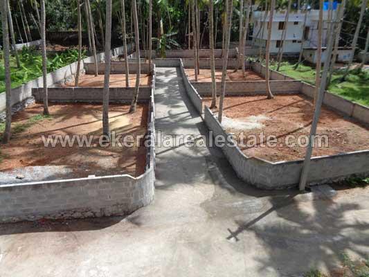 Thiruvananthapuram real estate Properties 7 House plots in Pangappara Kariavattom