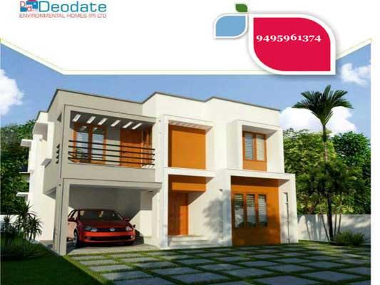 3 Bedrooms New Villas in Sree Nagar Pattathanam Kollam