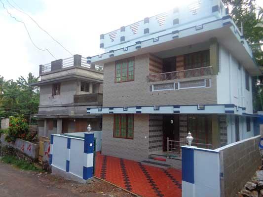 Roadside New 3 BHK House for sale Pallimukku Peyad Trivandrum Kerala