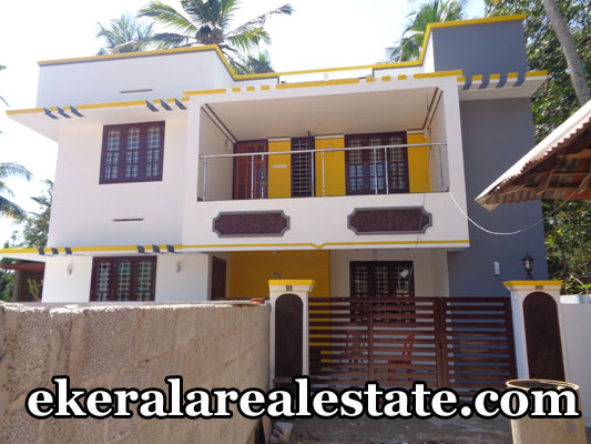 House located at Sreekaryam Loyola Road (Kunju Veedu Lane) Land Area : 3 Cent , 1500 Sq.ft. Lorry Access. Ground Floor : 1 Bedroom (Attached), Hall, Dining and Smart Modular Kitchen in Full Privacy , Car Porch, Extra Car Shed Space. First Floor : 2 Bedrooms (Attached),Balcony. Hygienic Environment Main Bus Stop – 250 meter Kariavattom – 4 km Ulloor – 3.5 km School, Hospital, Bank, Market – 1.5 km Sreekaryam Junction – 1.5 km Price : 67 lakhs Contact no : +91 9847116347, 9847098572, 9446355296  When you call, plz mention that you found this ad on ekeralarealestate.com