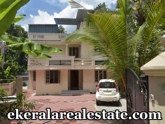 House Located Near Mannanthala Junction Area : 11.5 cents, 3000 sqft 5 Bedrooms 8 years old House. Ground floor – sitout,living hall,dining hall,2 bedroom,kitchen First floor – 3 bedroom,hall,balcony,utility area Outhouse and kitchen extra 4 car parking area MC road – 250m Medical collage – 5km Airport and Railway station – 10km Technopark – 13km Email : jayannrips@gmail.com Contact : +91 9847044635, 8547640658  When you call, plz mention that you found this ad on ekeralarealestate.com