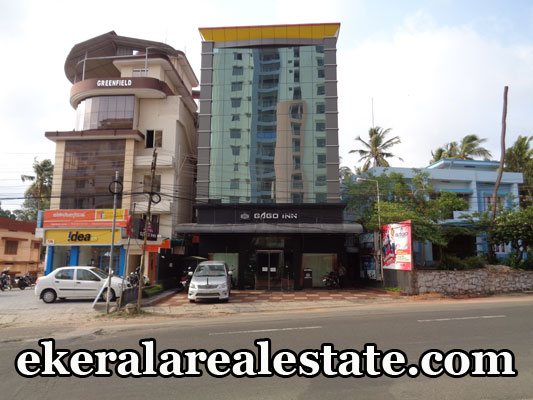 Building located at Kesavadasapuram Ulloor Road Land Area : 10 Cent, 12500 Sq.ft 24 Rooms, Restaurant, Banquet hall, Ballroom NH Road Frontage Bus Stop – 200 meter Price : 12 Crore Contact no : +91 9526904333  When you call, plz mention that you found this ad on ekeralarealestate.com
