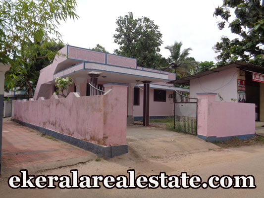 5.5 Cent,1300 Sq.ft House With Shop Sale at Pattathil Kavu Madannada Kollam Kerala