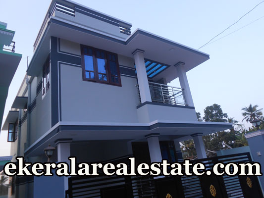 House Located Near panchayat office Peyad Junction Land Area : 3 Cents ,1400 Sq.ft Vasthu Based 2 Storied New House Lorry Access, Tar Road Frontage 3 Bedrooms (Attached),East Facing, Hall,Kitchen,Sitout,Vitrified stainfree Tiles Flooring,Septic Tank,Waste Water Disposal Tank,Kitchen waste Disposal ,Innova Size Car Porch, Electrical Cable are V Guard, Washing Machine Facilities,Fans and Tube Sets and Fancy Light,Inverter Facilities,water Heaters and Ac Facilities,Profited Neighbors, Corporation Tap Water. All Living Facilities are in 500m Radius. Thirumala juntion – 4 Km Railway Station – 9 Km Price : 45 Lakhs (nego) Contact No : +91 9447662932  When you call, plz mention that you found this ad on ekeralarealestate.com